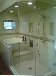japanese soaking tub shower Bathroom Contemporary with Asian deep tub  glass. Image by: New Style Kitchen Bath Patio