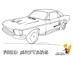 1200x927 fierce car coloring ford cars free mustangs t bird shelby