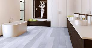 Awesome White Bathroom Laminate Flooring Regarding Size 2000 X 1067 Photo