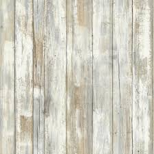 distressed wood l and stick wallpaper