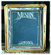 framed chalkboard calendar dry erase rustic wall decal weekly hobby lobby wood