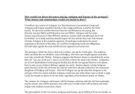 sample college admission antigone theme essay antigone by sophocles is a play that has three major themes