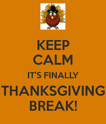 Image result for thanksgiving break