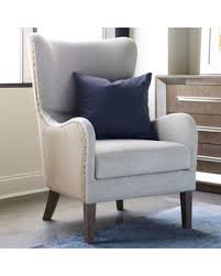 gray wingback chair. Tommy Hilfiger Warner Wingback Chair In Grey/beige Gray A