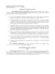 Sample Affidavit Of Residence