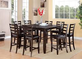 Tall Square Kitchen Table Set Amazing Ideas Tall Square Dining Table Attractive Bar Height
