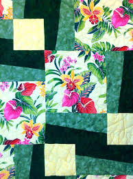 Quilt Stores Fabric Shops Hawaii Hawaiian Quilt Fabric Hawaiian ... & Ermies Bq 3 Quilt Using A Large Scale Hawaiian Print Fabric Quilt Stores  Fabric Shops Hawaii ... Adamdwight.com