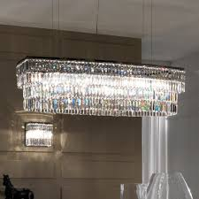 large italian contemporary chrome glass pendant chandelier juliettes interiors