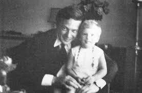 Mr Brian Epstein — Brian Epstein with his niece, Joanne, circa 1967