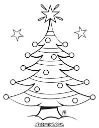 Dessin A Imprimer Sapin De Noel Gratuitl