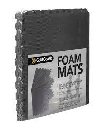 rubber floor mats for gym. Get Quotations · Gold Coast Exercise Mat \u2013 6 Piece - Puzzle Gym Equipment Set Foam Interlocking Rubber Floor Mats For