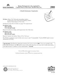 Doctors Note Kaiser Permanente Fake Kaiser Permanente Doctors Note All New Resume