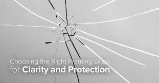 choosing the right framing glass for clarity and protection frame destination blog