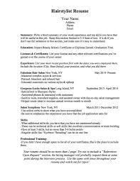 Hairstylist Job Description Hair Stylist Resume Job Description Assistant Templates Bcn Scriptt 6
