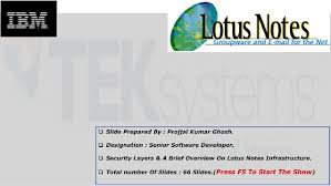 Lotus Notes Lotus Notes Presentation Please Loo Into It