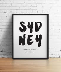 on home decor wall art au with sydney print wall art travel poster australia poster