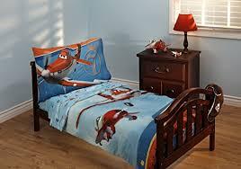 Disney Planes Letu0027s Soar 4 Piece Toddler Bedding Set