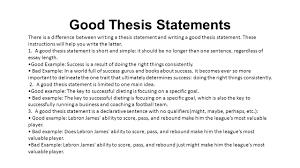 Thesis Statement Throwdown