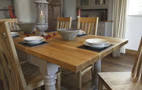 countertop lovely painted oak dining table and chairs