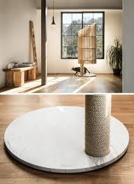 modern cat tree furniture. Designer Yoh Komiyama Has Designed NEKO, A Modern Cat Tree That Offers Natural Wood Furniture D