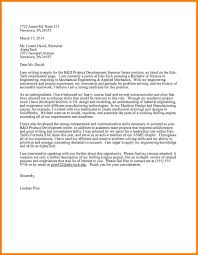 10 Cover Letter Examples Engineering Resume Samples