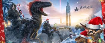 ark survival evolved releasing raptor claus for for ark holidays llp