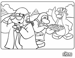 Small Picture Detective Club Penguin Coloring Pages 30696 Bestofcoloringcom