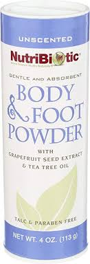 Nutribiotic Body and Foot Powder, Unscented, 4 ... - Amazon.com