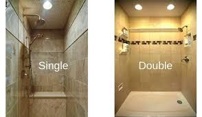 the shower lighting