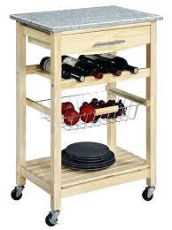 Mobile Kitchen Island Mobile Kitchen Kitchen Island W Granite Top W Shelf Mobile  Kitchen Island With