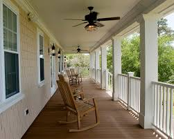 nautical ceiling fans porch traditional with ceiling fan deck handrail lanterns outdoor lighting baseboards ceiling fan