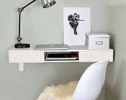 wall mounted office desk. floating desk wall mounted by shopformolly on etsy office h