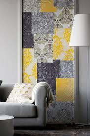 grey wallpaper living room. hammer wallpaper grey yellow tepeten living room wall decoration .