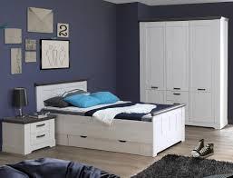 Schlafzimmer Gaston 60 Weiß Grau 5 Teilig Jugendzimmer Schneeeiche
