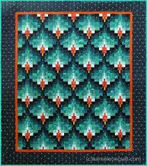 bargello quilt pattern | Kameleon & bargelloflamesbed2 Adamdwight.com