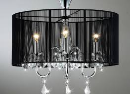 aubree lights black and chrome semi flush mount crystal