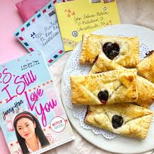 My dad loves josh because he's a boy and my dad is surrounded by girls. Lara Jean S Cherry Turnovers To All The Meals I Ve Cooked Before
