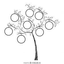 Pretty Family Tree Template Cute Nice Genealogical