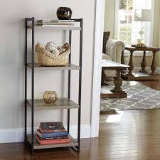 home essentials furniture. Ashwood 4-Shelf Storage Tower In Light Wood Home Essentials Furniture