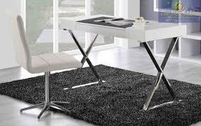 chrome office desk. Image 1 Chrome Office Desk M