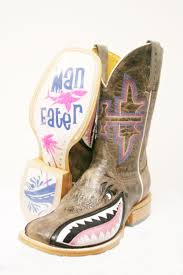 Tin Haul Womens Man Eater Boots I Want These So Bad
