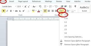 How To Make A Resume On Word Line Spacing Resume Skill Words List