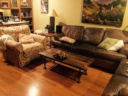 Wooden Living Room Sets Brown Reclaimed Originals Reclaimed Wood Living Room Set