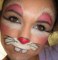 face paint tutorial snazaroo easter bunny makeup for s costumemodels