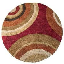 orian rugs eclipse rouge 94 in round area rug 299 home depot home depot round rugs75 round
