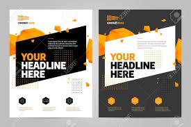 Presentation Flyers Brochure Design Template Vector Abstract Square Cover Book Portfolio