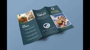 Trifold Brochure Size How To Set Up Tri Fold Brochure Document Size In Illustrator 2017