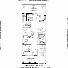 30 ft wide house plans. 30 Ft Wide House Plans Luxury Plan For Feet By 75 Plot
