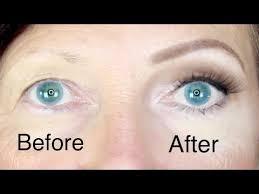 hooded eyes makeup for skin