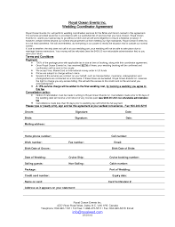 event agreement contract 34 wedding planner contract templates wedding planning contract